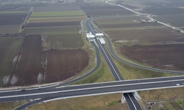 Ποδαρικό στο 2019 με έργα στον αυτοκινητόδρομο Ε65