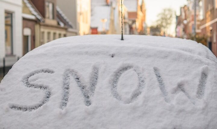 Οδηγός επιβίωσης στη χιονισμένη Αθήνα