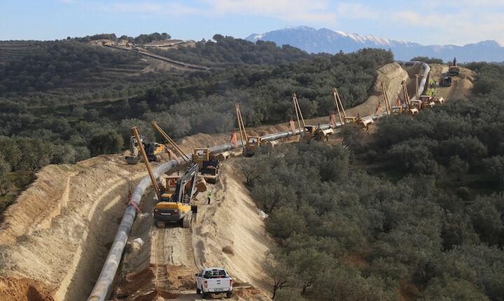 Ολοκληρώθηκε η χρηματοδότηση του αγωγού TAP με 3,9 δισ. ευρώ