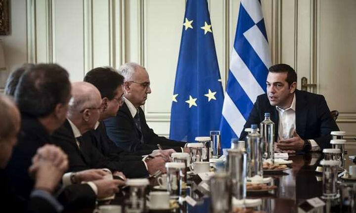 Η προστασία της πρώτης κατοικίας στη σύσκεψη Τσίπρα με τραπεζίτες