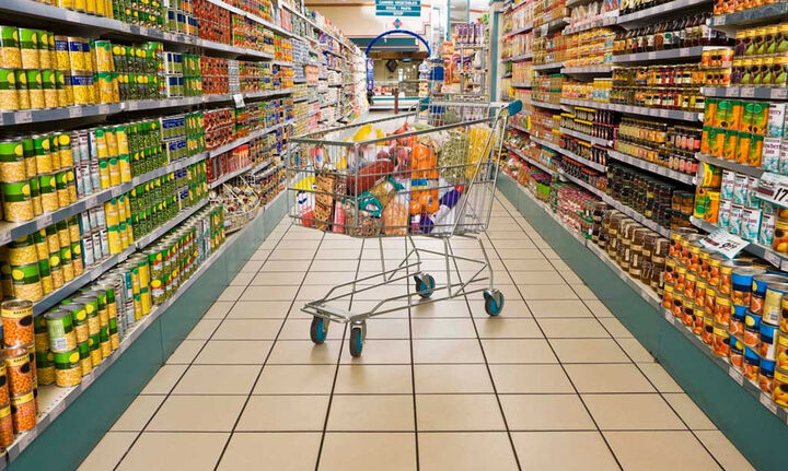 """Με ρυθμό 1,5% θα """"τρέξουν"""" φέτος τα σουπερμάρκετ"""