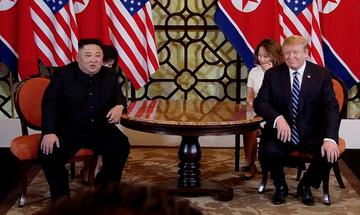 Ναυάγιο στη συνάντηση Τραμπ – Κιμ