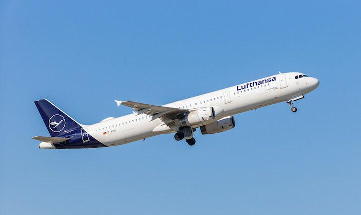 Αύξηση 18% στην επιβατική κίνηση από και προς Ελλάδα για τη Lufthansa