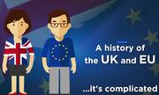 Η πολύπλοκη και πολυτάραχη σχέση της Ε.Ε. με τη Βρετανία