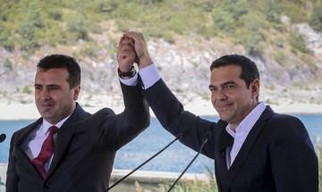 Ελληνική επίθεση φιλίας στα Σκόπια