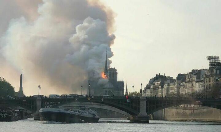 Υπό έλεγχο η πυρκαγιά στην Παναγία των Παρισίων