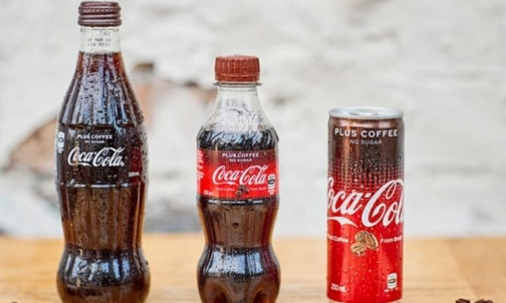 """Αυτή είναι η νέα """"υβριδική"""" Coca Cola που έρχεται και στην Ελλάδα"""
