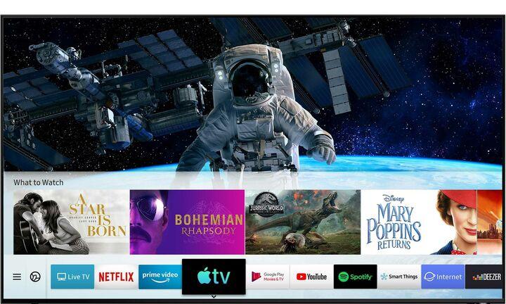 H Samsung φέρνει το  Apple TV στις τηλεοράσεις της