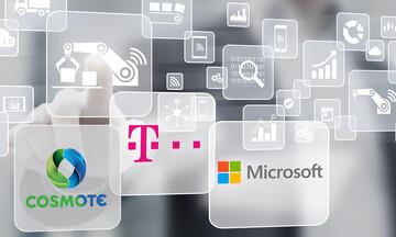 Συνεργασία Cosmote και Microsoft για την παροχή ολοκληρωμένων υπηρεσιών cloud σε επιχειρήσεις