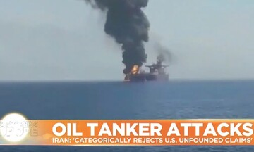 Κατηγορίες από τις ΗΠΑ στο Ιράν για τις εκρήξεις σε τάνκερ