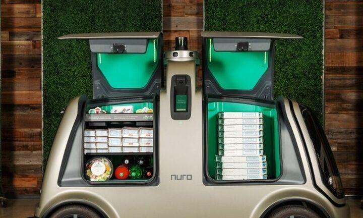 Domino's: Ντελίβερι με οχήματα-ρομπότ της Nuro