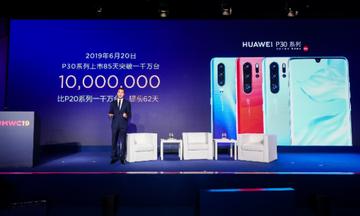 Huawei P30 series: Σπάει το ρεκόρ με 10 εκατ. πωλήσεις