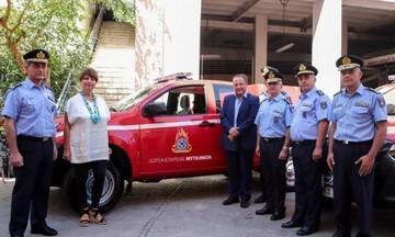 Δωρεά έξι πυροσβεστικών οχημάτων από τον όμιλο «Μυτιληναίος»