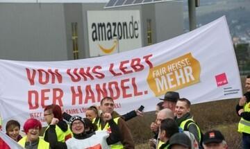 Απεργία στην Amazon για υψηλότερους μισθούς