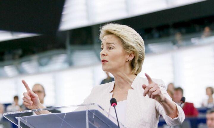 Πέρασε τον σκόπελο της Ευρωβουλής η Ούρσουλα φον ντερ Λάιεν