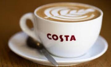 Costa Coffee σε τουλάχιστον 10 αγορές από την Coca-Cola HBC