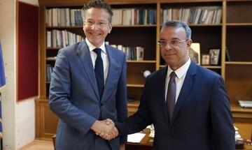 Ο Ντάισελμπλουμ στην Ελλάδα, θέλει να ηγηθεί του ΔΝΤ