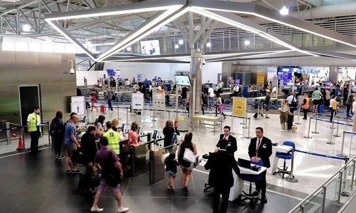 Αύξηση 4,7% στην κίνηση επιβατών στα ελληνικά αεροδρόμια