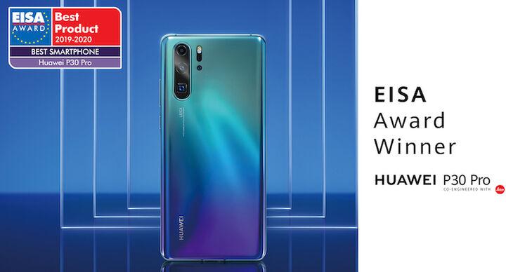 Σημαντική διάκριση για το κινητό τηλέφωνο Huawei P30 Pro