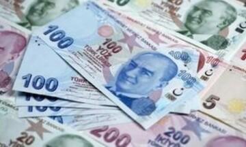 Νέα μεγάλη πτώση της τουρκικής λίρας