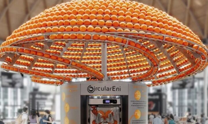 Βιοπλαστικά ποτήρια από φλούδες πορτοκαλιού (βίντεο)