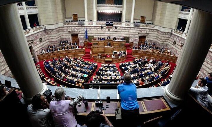 Ολοκληρο το προσχέδιο του Προϋπολογισμού: Κατατέθηκε στη Βουλή