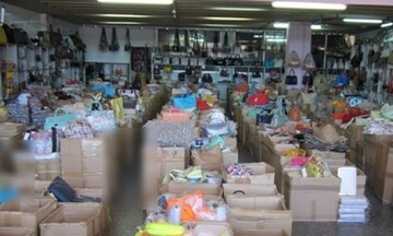 Παρεμπόριο: Πρόστιμα 25.000 € σε Αττική, Κορινθία, Θεσσαλονίκη, Καρδίτσα, Καστοριά και Ροδόπη