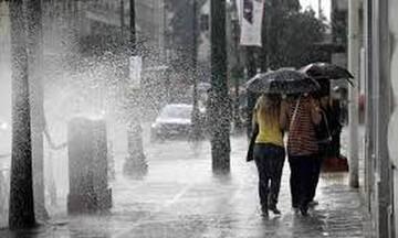 Ισχυρές βροχές και καταιγίδες, με κατά τόπους μεγάλα ύψη στην Αττική