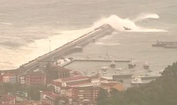 Η καταιγίδα Αμελί δοκιμάζει Ισπανία, Γαλλία και Ιταλία