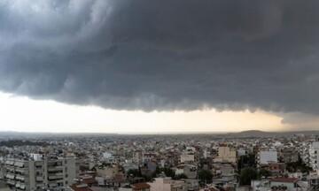 Νέο κύμα τοπικά ισχυρών βροχών και καταιγίδων
