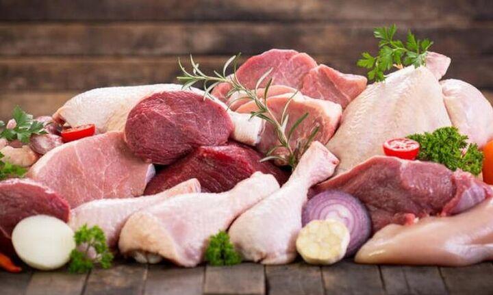 Κατάσχεση 145 κιλών βοδινού κρέατος, κοτόπουλων και σουβλάκια