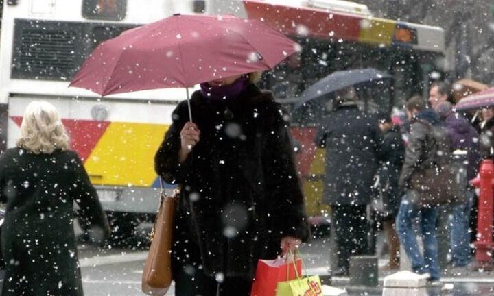 Ψυχρό μέτωπο από τα Βαλκάνια: Νέα σημαντική πτώση της θερμοκρασίας στην Ελλάδα