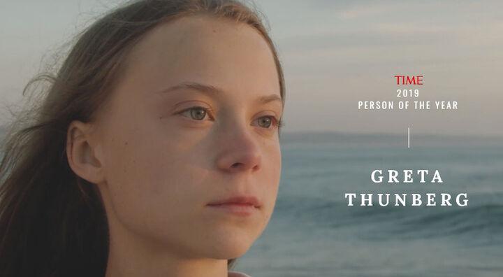 Η Γκρέτα το Πρόσωπο της Χρονιάς για το Time