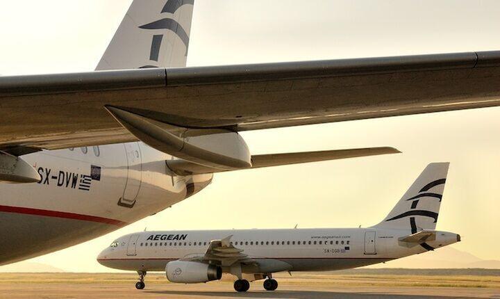 Επέκταση για την Aegean με νέους προορισμούς και νέα αεροπλάνα
