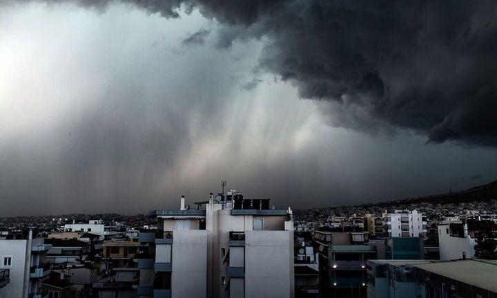 Έκτακτο δελτίο επιδείνωσης του καιρού - Πόσο θα διαρκέσει η κακοκαιρία