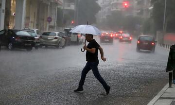 Ισχυρές βροχές & θυελλώδεις άνεμοι:Περιοχές με τα μεγαλύτερα ύψη βροχής-Οι συνθήκες στο οδικό δίκτυο