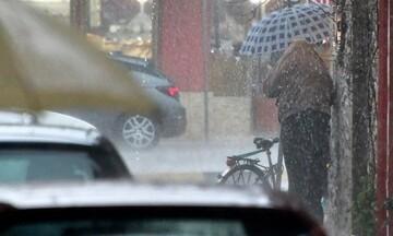 Βροχές και καταιγίδες στο μεγαλύτερο τμήμα της χώρας