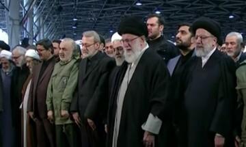 Χιλιάδες κόσμου στην κηδεία του Σουλεϊμανί