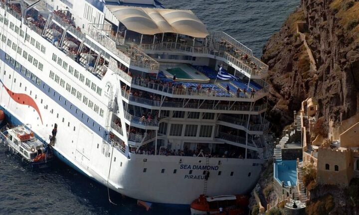 Ματαιώθηκε η αποσφράγιση προσφορών για την ανέλκυση του Sea Diamond