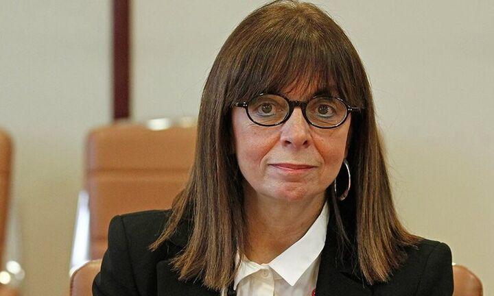 Πρόεδρος της Δημοκρατίας η Αικατερίνη Σακελλαροπούλου