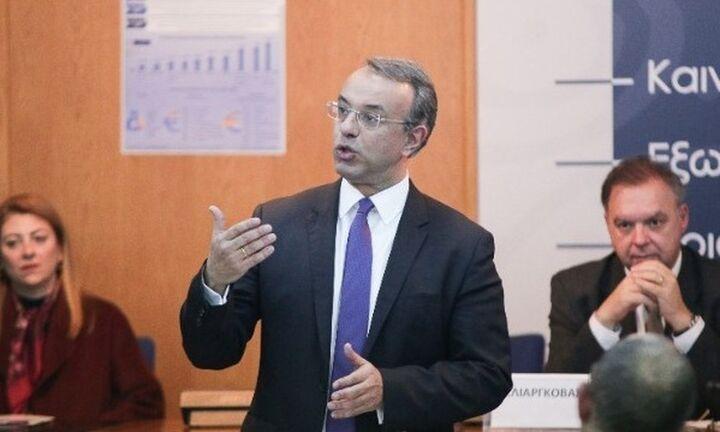 Σταϊκούρας: Νέα μείωση ΕΝΦΙΑ και φόρων το 2020