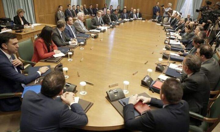 Σειρά νομοσχεδίων στο σημερινό υπουργικό συμβούλιο