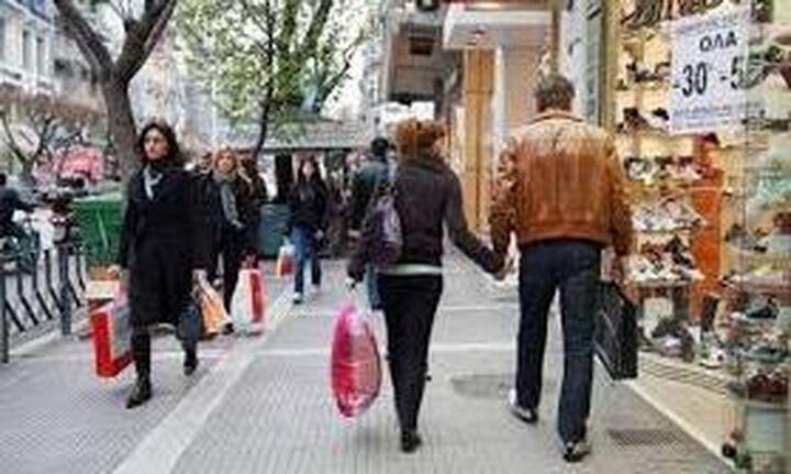 ΕΛΣΤΑΤ: Αύξηση 5,1% στον όγκο πωλήσεων λιανικού εμπορίου