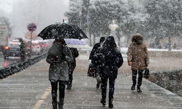Θεαματική πτώση της θερμοκρασίας και χιονοπτώσεις από την Τετάρτη