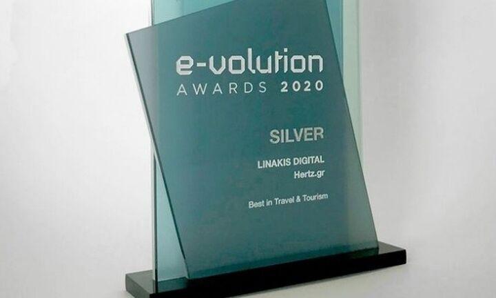 Autohellas Hertz: διάκριση του hertz.gr στα e-Evolution Awards