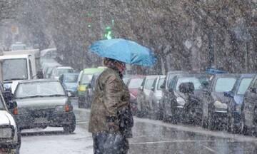 Χιονοπτώσεις, πτώση θερμοκρασίας έως 15 βαθμούς και μποφόρ από τις πρώτες ώρες της Τετάρτης
