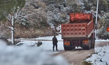 Ψυχρή «εισβολή» με χιονοπτώσεις και χαμηλές θερμοκρασίες