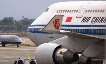 Προσωρινή αναστολή των πτήσεων της Air China στην Ελλάδα
