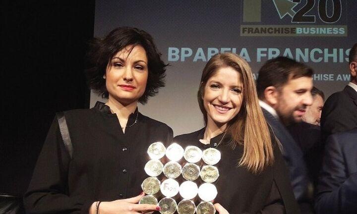 Νέα διάκριση της Nobacco στα βραβεία Franchise 2020