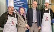 Η 3αλφα έστρωσε το τραπέζι στο συσσίτιο του Κέντρου Αλληλεγγύης του Δήμου Αθηναίων
